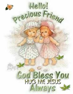May your day be filled with love, laughter, family & friends God Bless you! ️Hugs & love ~ from my Vickie❤️ Genuine Friendship, Friend Friendship, Friendship Quotes, I Love My Friends, True Friends, Special Friends, Dear Friend, Christian Families, Christian Faith