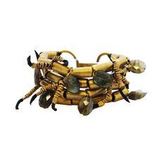 Rocker Brass Bracelet by DePetra