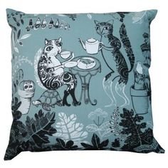 cat cushion by Lush Designs at Galerie CO