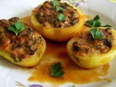 Rețetă Felul principal : Cartofi umpluti cu ciuperci de Pica Flori