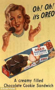 old oreo ads | global oreos are enjoyed by fans in over 100 countries worldwide and ...