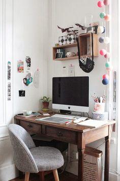 Super cute home office