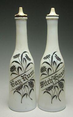 Antique Barber Bottles