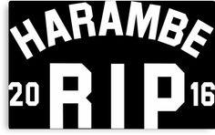 harambe 2016 rip