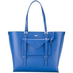 Giorgio Armani Contrast interior tote ($1,236) ❤ liked on Polyvore featuring bags, handbags and tote bags