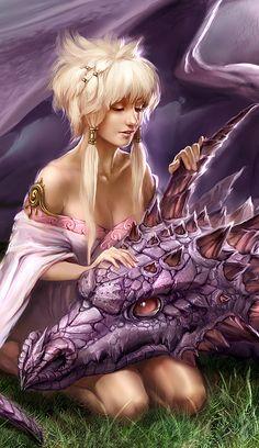 Year of Dragon by ~uildrim on deviantART (detail)