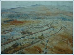 Tony Garnier - industrial city Planning Maps, Urban Planning, Old Maps, Modern Architecture, Industrial, History, Drawings, Painting, Urban Design