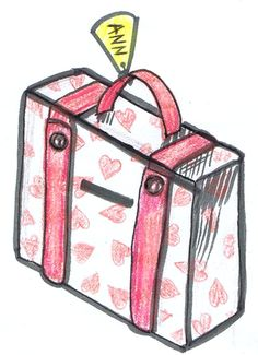 suitcase valentines box step How to Make Valentine's Day Suitcase Mailbox Craft Idea for Kids