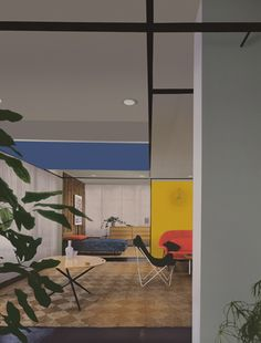 Knoll Associates showroom, Madison Avenue, New York, NY. Florence Knoll, Designer, 1951. Robert Damora, Photographer, 1951