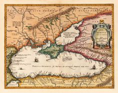 Antique and historic maps of the Black Sea. Catalogue of historic old rare maps from the to the centuries. Old Maps, Antique Maps, Black Sea, Historical Maps, Cartography, Ukraine, Concept Art, Medieval, Vintage World Maps