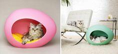 Nacelle pour chats design