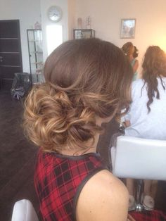 wedding updo hairstyles 2 via elena radoman