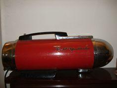Vintage Retro Royal Red Vacuum Cleaner art deco mid century rocket ship rare Royal Red, Needful Things, Fire Extinguisher, Vacuums, Retro Vintage, Art Deco, Mid Century, Ship, Ebay