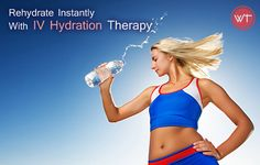 Rehydrate Instantly With IV Hydration Therapy