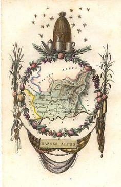 Le Département des Basses-Alpes (Maintenant Alpes de Haute Provence)