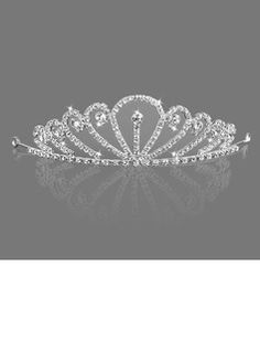 Headpieces Gorgeous Clear Crystals Bridal Tiara (042005586)