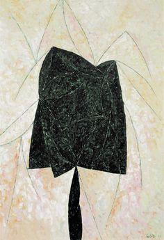 Alfredo Hlito (1923-1993), Form and lines, 1963, 110x70cm, Museo de Arte Latinoamericano de Buenos Aires