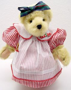 NABCO Tree Trimming Muffy Outfit* Muffy Vanderbear [04-180] - $220.00 : Village Bears!, Your Favourite Bear Store
