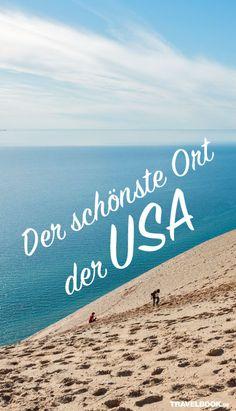 USA-Touristen zieht es oft an klassische Ziele wie Kalifornien, Florida, Las Vegas oder New York. Dabei lockt der Norden Michigans mit dem aus Sicht der Amerikaner schönsten Ort der USA: die Sleeping Bear Dunes. Ein Besuch.