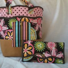 The Lovely Lady Purse and Wallet Pattern