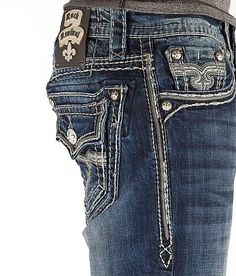 NEW Buckle Rock Revival Low Rise Remy Slim Boot Jean 36 x 31