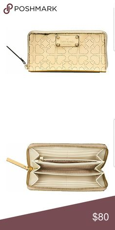 Kate Spade Metro Spade Neda Continental Zip Wallet this continental wallet zips around to stow train tickets, movie stubs, and all the cash or credit you'd ever need to carry in its plentiful pockets ... kate spade Bags Wallets