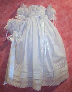 Pat Garretson christening gown-gorgeous!