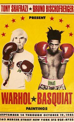 WARHOL - BASQUIAT