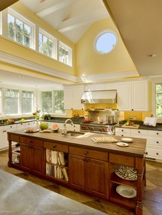 Yellow Kitchen Design, Pictures, Remodel, Decor and Ideas - page 8