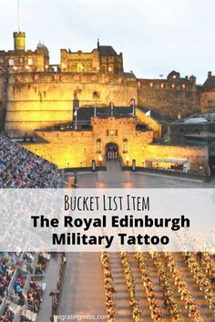 Have to head down from Montrose after Reunion but can stop back on way to Inverness.   An Unforgettable Experience: The Royal Edinburgh Military Tattoo