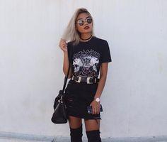 SHOP   @x_carms   Rock T Shirt Black