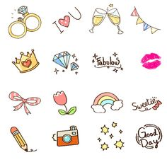 WANTED: Emoticon Stickers/Stamp Sets for a Stylish Collage App鈽?20/ 銈偡銉c儸銇偝銉┿兗銈搞儱銈儣銉仹鍒╃敤鈽呫偣銈裤兂銉楃礌鏉愬嫙闆嗭紒 by camelt