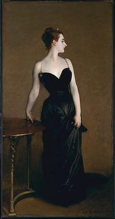 Madame X (Madame Pierre Gautreau), John Singer Sargent, ca. 1883-1884, The Metropolitan Museum of Art