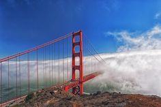 Way to Fog: Golden Gate Bridge, San Francisco by KP Tripathi on 500px