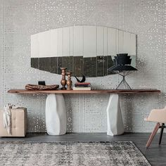 Stripes Wall Mirror by Cattelan Italia   Cattelan Italia Furniture