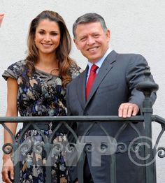 King Abdullah and Queen Rania