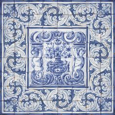 Portuguese Ceramic Tile | Bicesse Tiles - Portuguese tiles from Portugal wall decorative ceramic ...