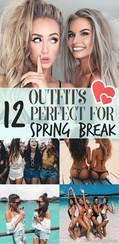Next stop: Spring Break! Don't worry I've got you covered, this list is my ultimate guide to the outfits and accessories you'll be needing for spring break! Grab some inspo and get on shopping!