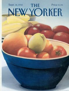 The New Yorker - Monday, September 14, 1992 - Issue # 3526 - Vol. 68 - N° 30 - Cover by : Gretchen Dow Simpson