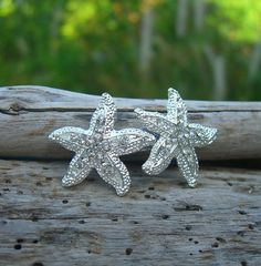 Starfish Hair Clip-HOLLYWOOD SPARKLE-Beach Weddings, Mermaid Costume, Mermaids, Girl Birthday Party, Bridesmaid Hair Clip, Party Favors