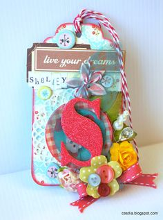 A Sweet Gift Tag for Shelley