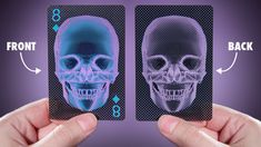 These plastic see thru x-ray cards are bendable and water proof...I thought the younger generations might get a kick out of these...