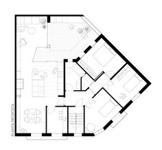 Apartment and Courtyard in Barcelona / CAVAA arquitectes