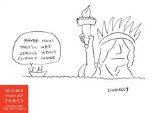 Lady Liberty is Drowning
