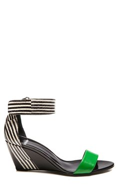 Snake Stripe Wedge by Pierre Hardy for Preorder on Moda Operandi