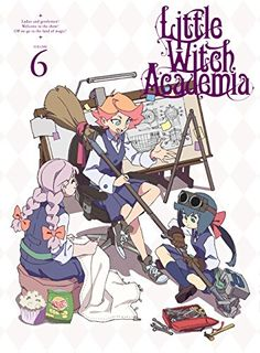 Little Witch Academia Vol.6   #FreedomOfArt  Join us, SUBMIT your Arts and start your Arts Store   https://playthemove.com/SignUp