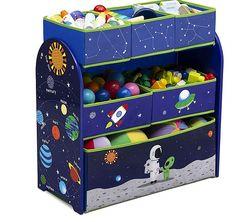 Delta Alfie The Astronaut Multi Bin Toy Organiser Kids 6 Bin Stroage Unit Space for sale Causes Of Adhd, Frozen Cupcake Toppers, Regal Bad, Diy Regal, Area Units, Feeling Stressed, Toy Organization, Black Spot, Decorating Blogs