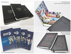 Customization on Classic Hard Cover Moleskine Notebook - JB Custom Journals