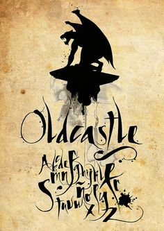 ✍ Sensual Calligraphy Scripts ✍ initials, typography styles and calligraphic art - Agustin Pizarro Maire oldcastle by AmbarDG, via Flickr