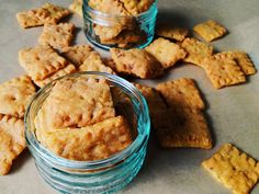 Gluten Free Homemade Bacon Cheez-it Crackers
